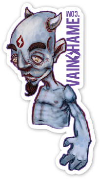 Vainshame-sticker