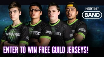 BAND offers 20 Vainglory guilds chance to win team jerseys!