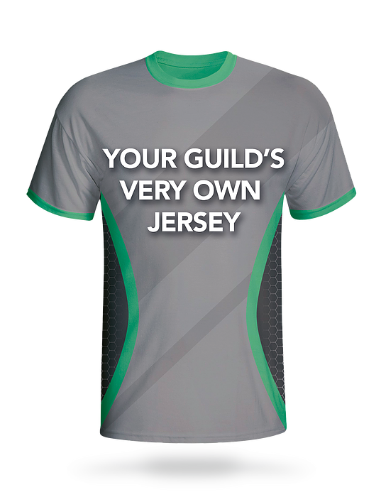 Winning guilds may customize jersey design and team logos